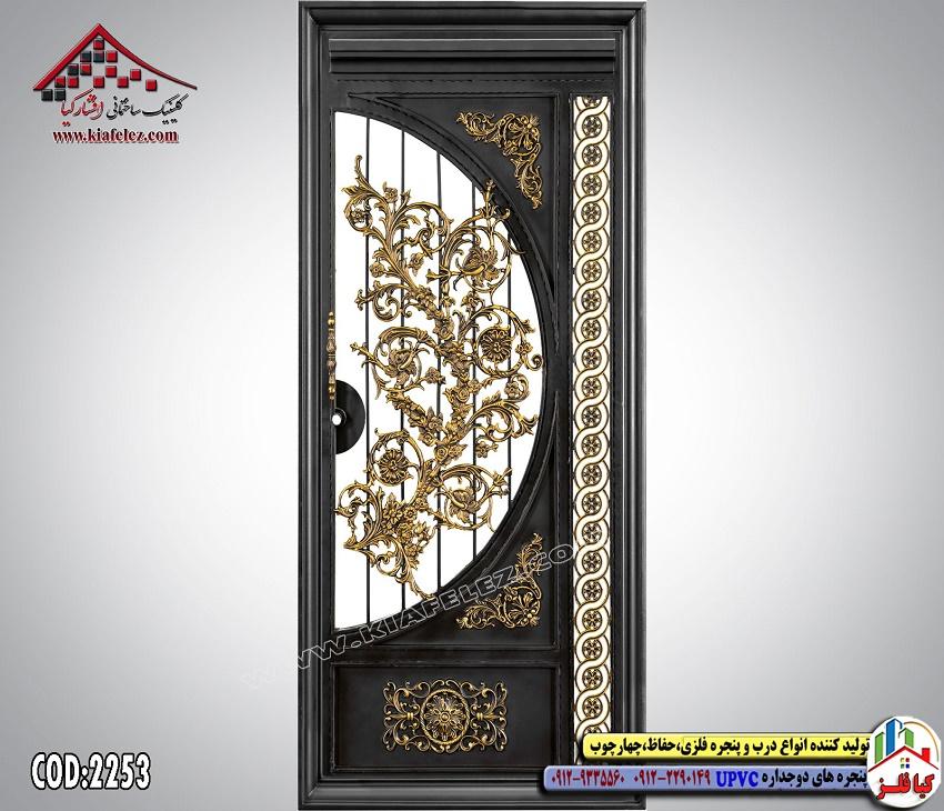 مدل درب فرفورژه,درب فرفورژه فلزی,درب فلزی,درب فرفورژه مدرن
