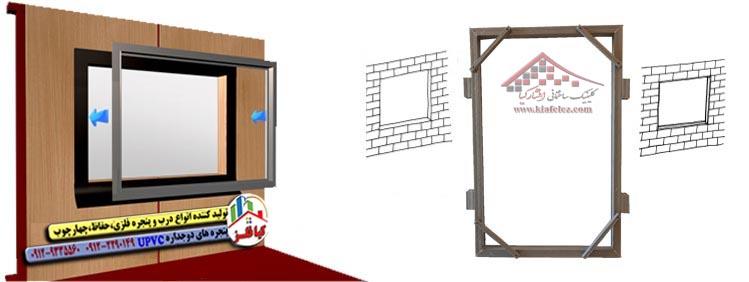 مکان قرارگیری پنجره دوجداره